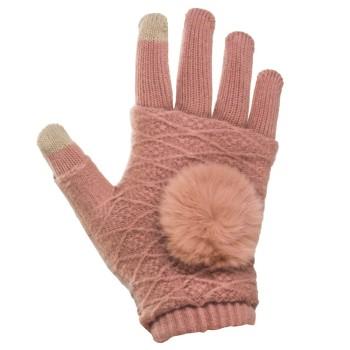 Γυναικεία πλεκτά γάντια για...
